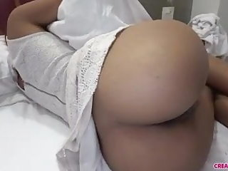 Thai Then I inserted my dick into her wet pussy, bareback