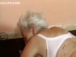 Fucking Machines Old Granny fucked by machine