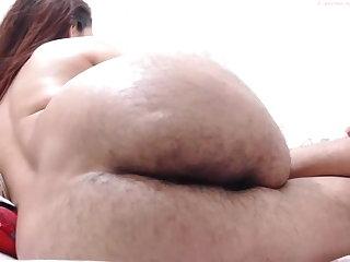 Colombian Hairy ass latina