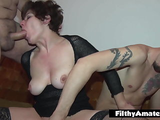 These wives like to be butt-fucked