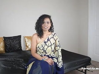 Dogging Desperate Indian Secretary wants to fuck pov in Tamil Eng