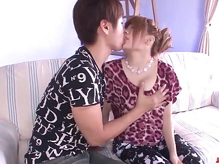 Japanese Wife Junna Hara leaves young lad - More at javHD.net