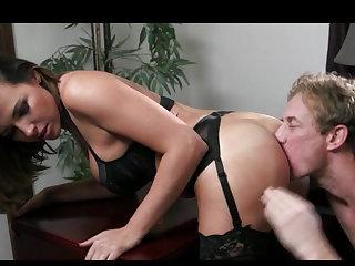 Cheating Sexy boss demands a fuck