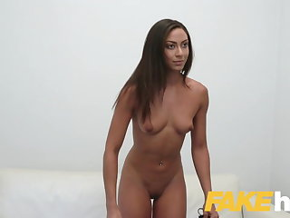 Fake Agent Hot desk fuck with tanned perfect ass euro babe Fake Agent