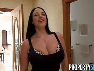 Funny PropertySex - Busty real estate agent Angela White fucking