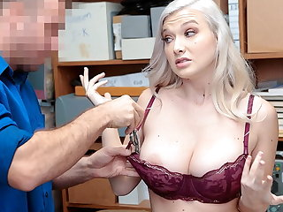 Cheating ShopLyfter -Busty Emily right Fucked By The Security Officer