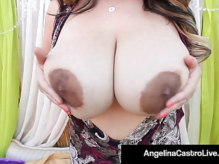 Vibrator BBWs Angelina Castro, Samantha 38G & Trinity Guess Fuck BBC!