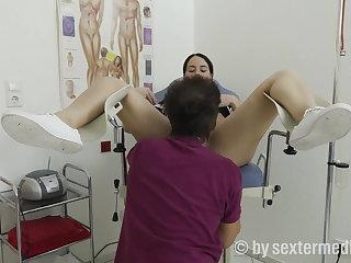Doctor Emma Secret fucked by gyn-doctor