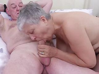 Doctor Grandpa fucks 2 Grandmas