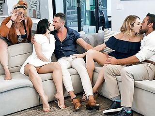 Masturbation TeamSkeet - Daughters Swapping and Fucking Dads Compilation