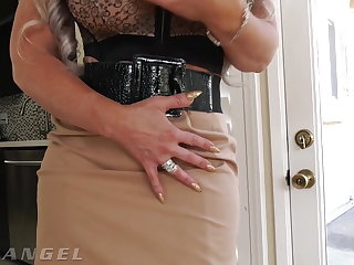High Heels EvilAngel – Busty MILF Rides Monster Cock Anally