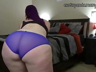 BBW Sexy chubby girl in panties