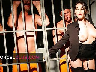 Valentina Nappi, the sexy jail director Valentina Nappi