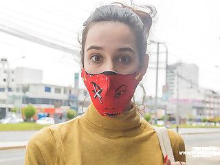 Peruvian VENEZUELAN MODEL tricked into photo shoot