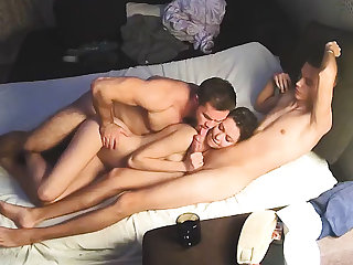 all Bi Sex Muscle Man & Friends – Hard Homemade Threesome