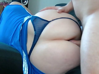 Amateur First anal fuck for this young cheerleader and her big ass!