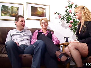 Rough Sex OLD GERMAN COUPLE FUCK IN FRONT OF MATURE NEIGHBOUR WOMAN