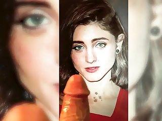 Natalia Dyer - cute face - Cum Tribute 5 Natalia Dyer