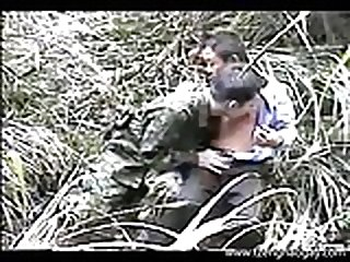 Military Military Outdoor Sex